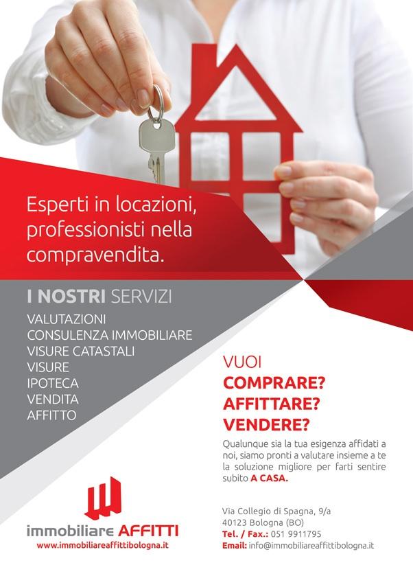 immobiliare affitti bologna volantino virtuale